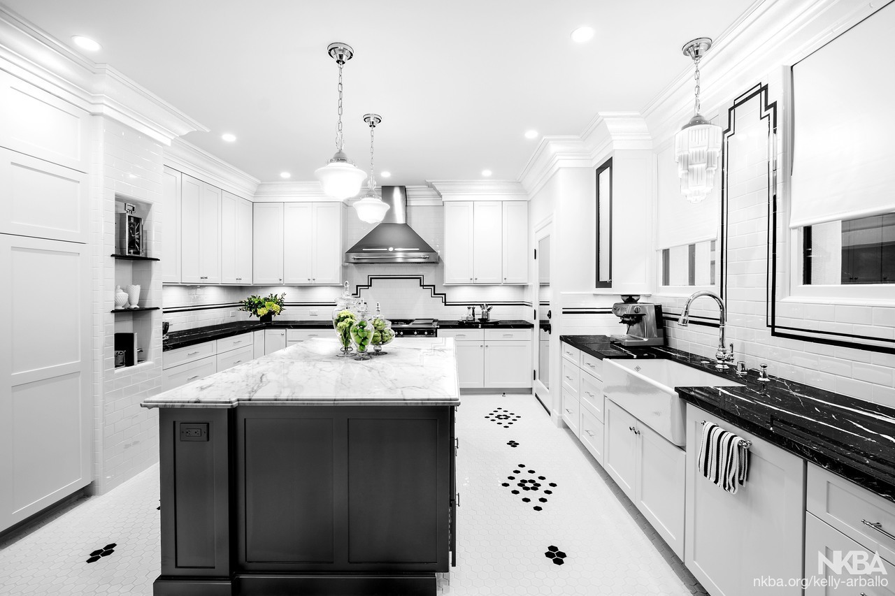 1920 S Art Deco Kitchen Revival Traditional