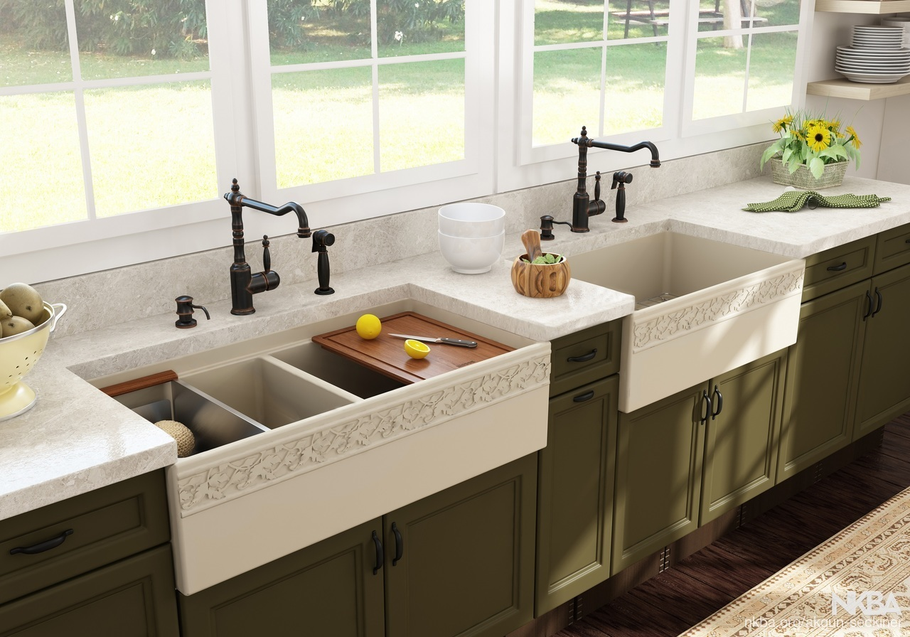 Bocchi Vigneto Step Rim A Front Kitchen Sink Farmhouse