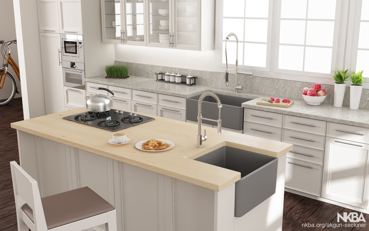 Bocchi Classico Apron Front Kitchen SInks - NKBA