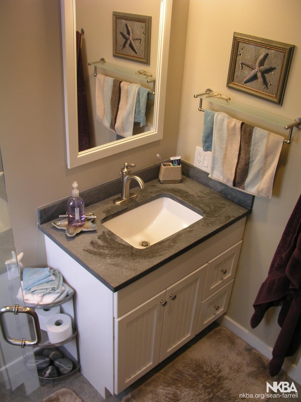 Small Master Bath Remodel Nkba