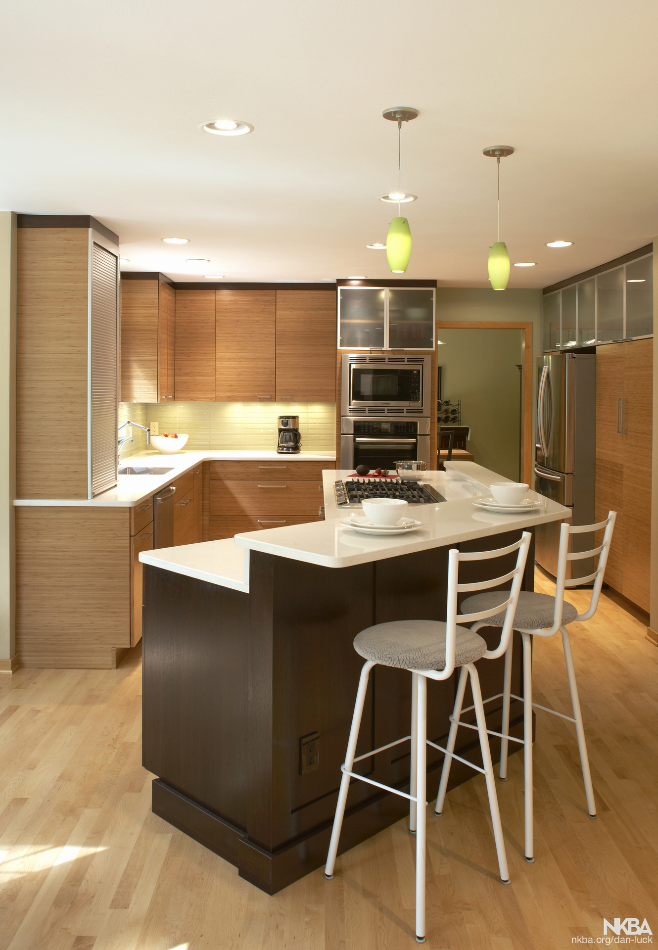 Bamboo And Lyptus Cabinetry   NKBA