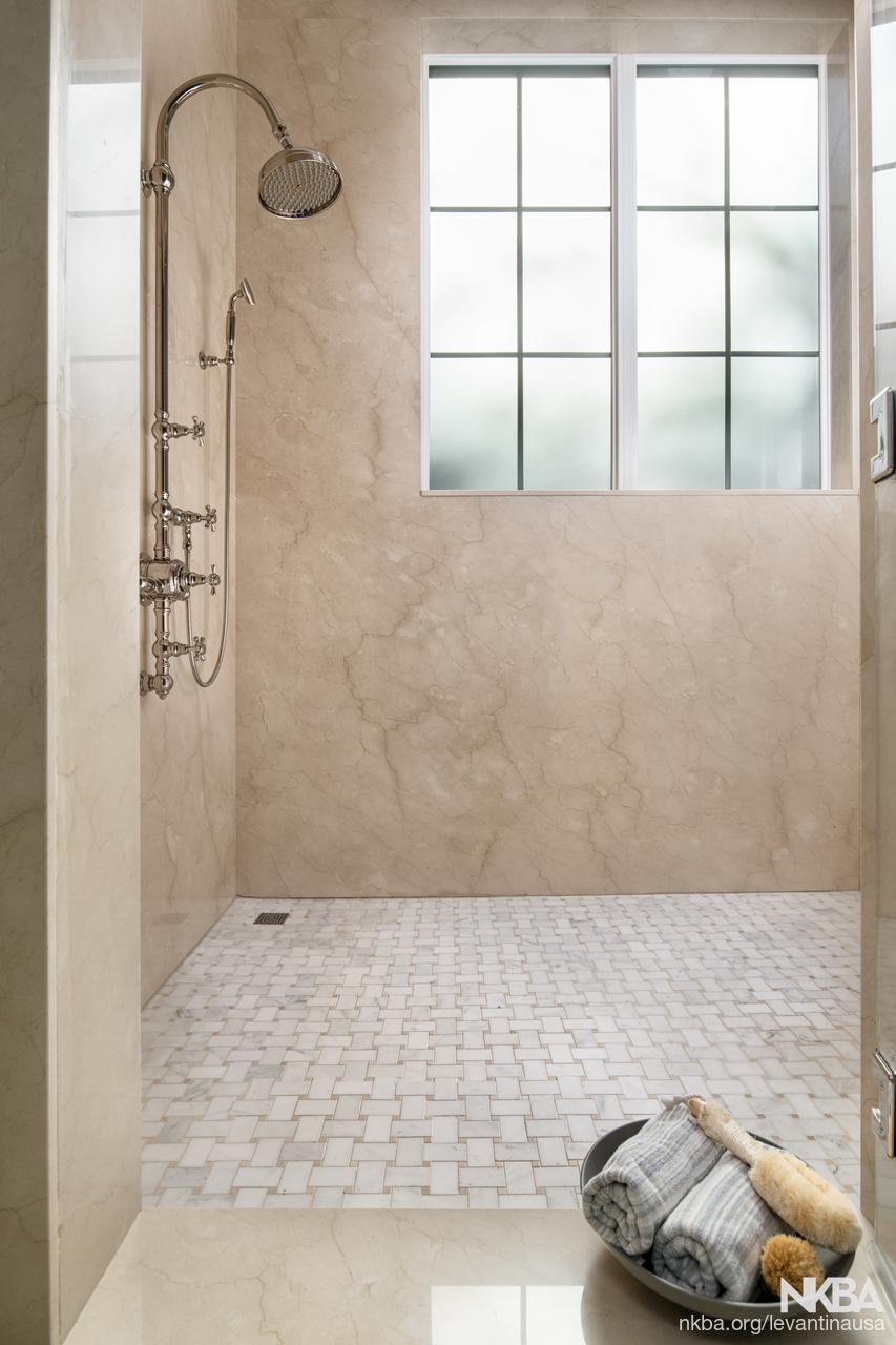 Shower- 2017 Atlanta Homes & Lifestyles Holiday Home - NKBA