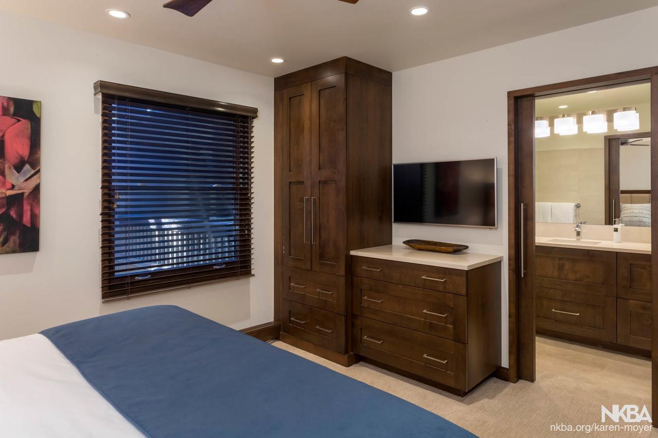 Space Saving Built In Closet/dresser   Transitional   Bath