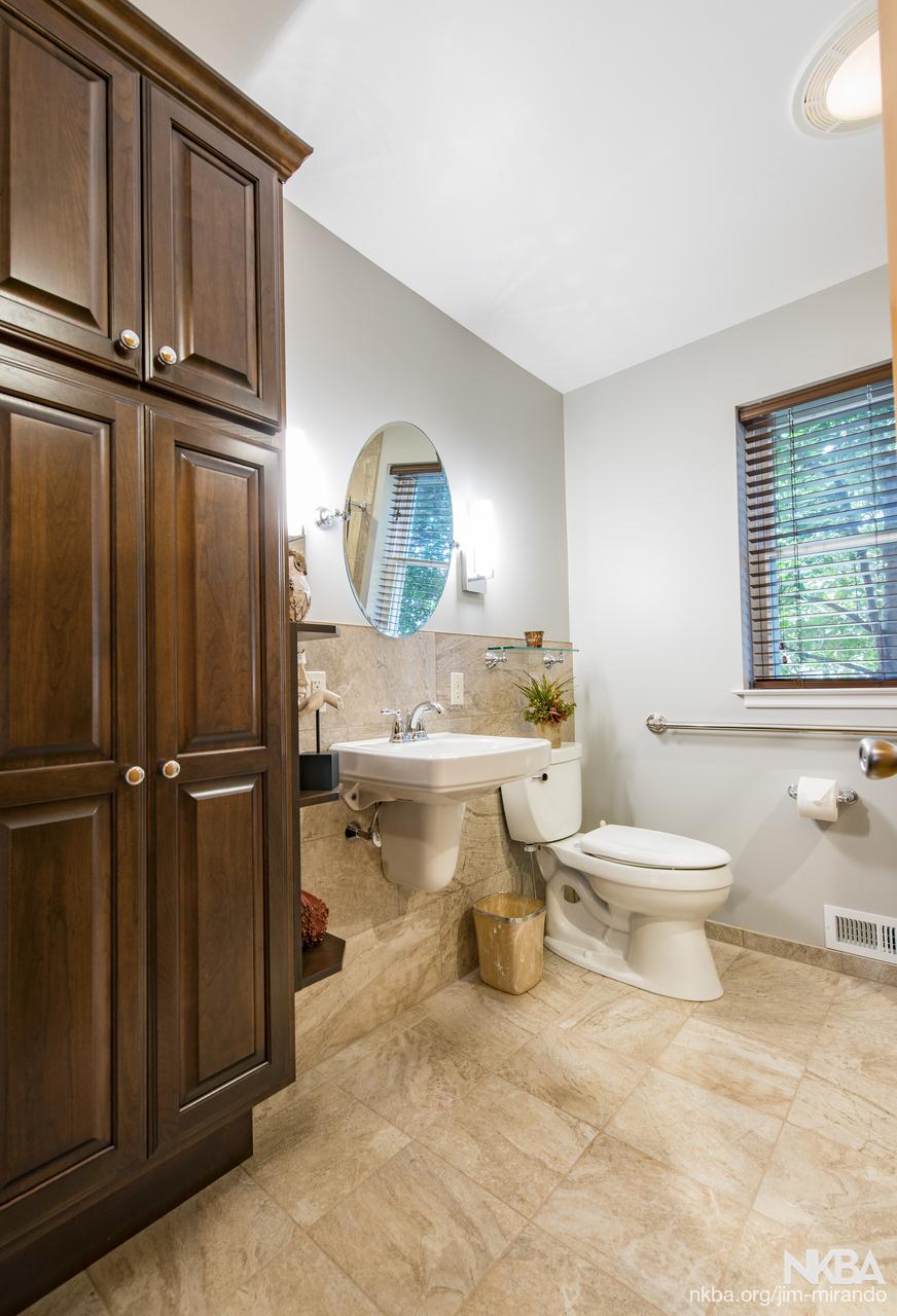 Wheelchair Accessible Bathroom - NKBA