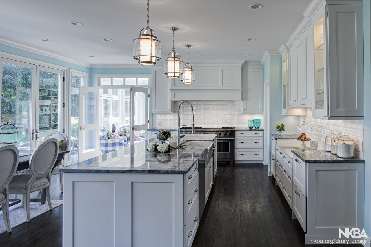 Fresh & Traditional Aurora Kitchen Remodel - NKBA