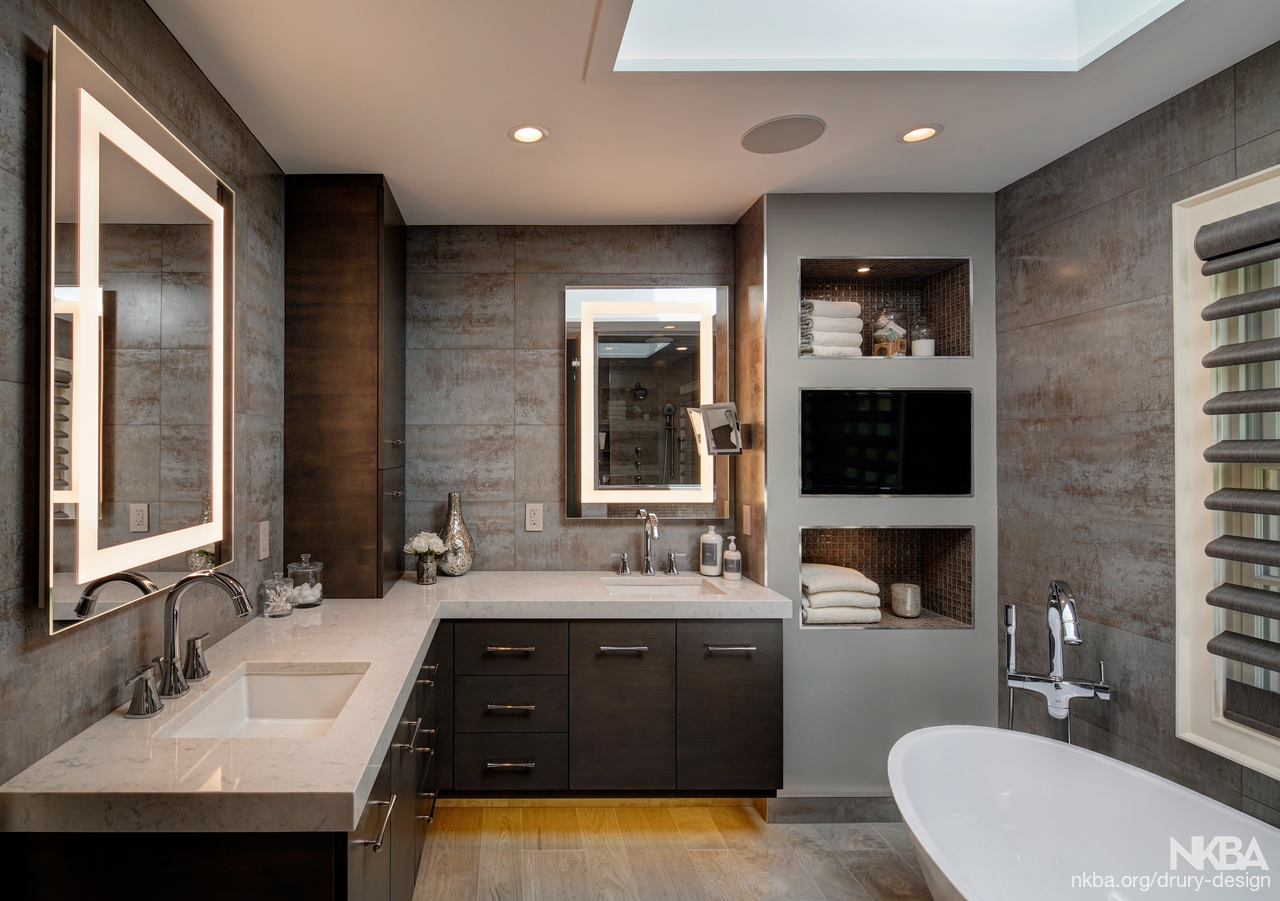 Dreamy Spa-Inspired Master Bath Remodel - NKBA