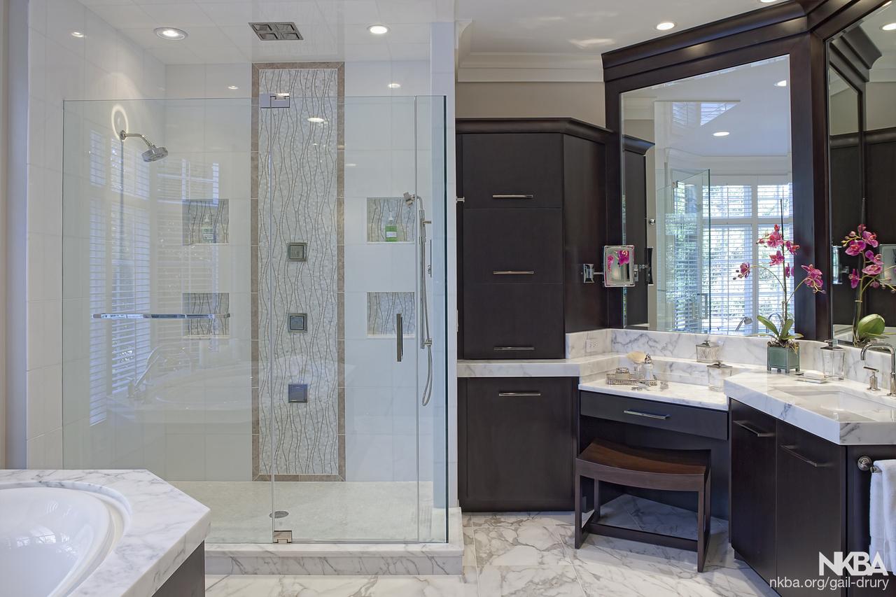 Luxurious Master Bath Retreat - NKBA
