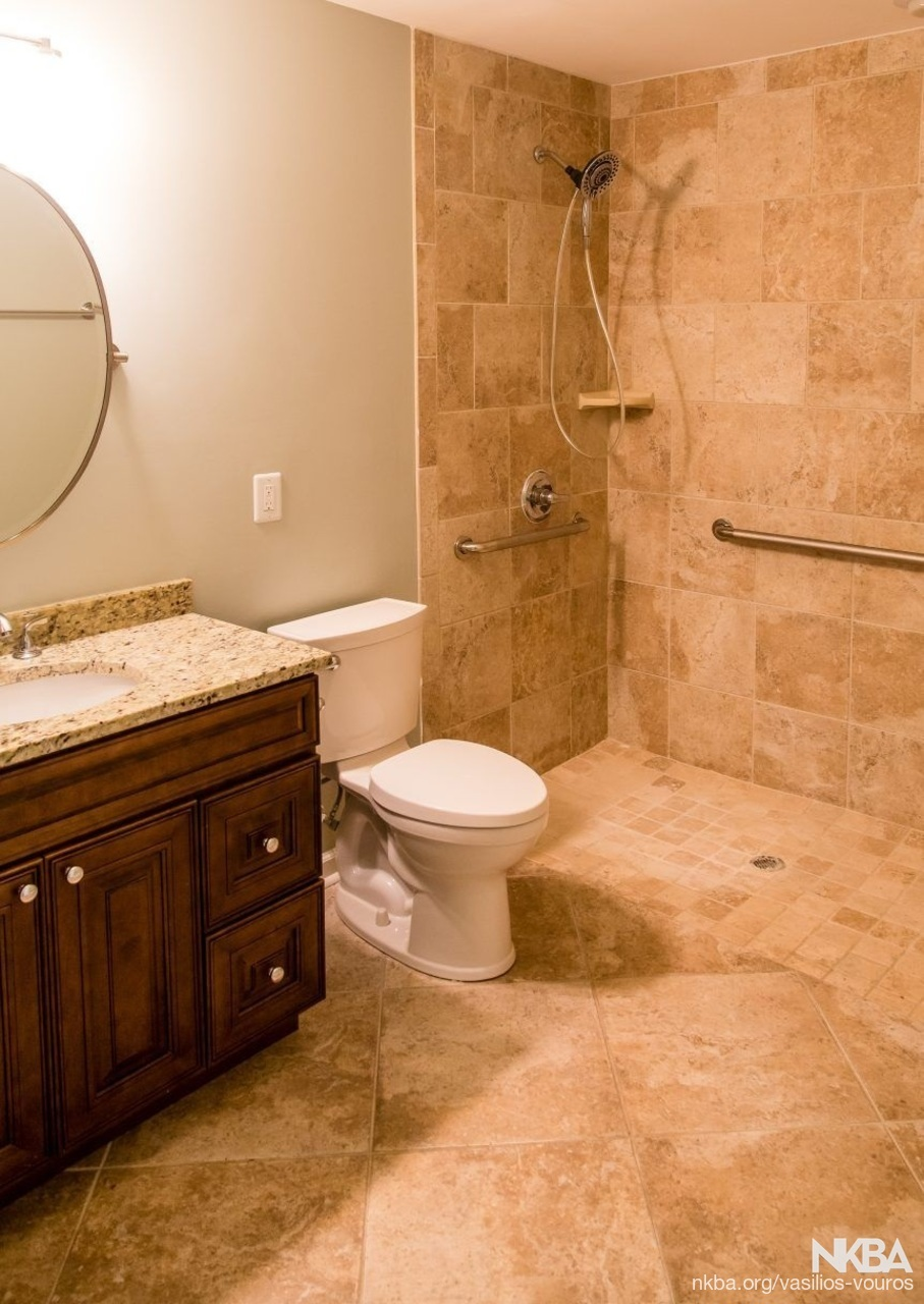 ADA Compliant Bathroom   Traditional   Bath