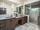 Bi-Level Modern Vanities - Contemporary - Bath