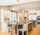 White Kitchen w/ Elliptical Soffit - Eclectic - Kitchen