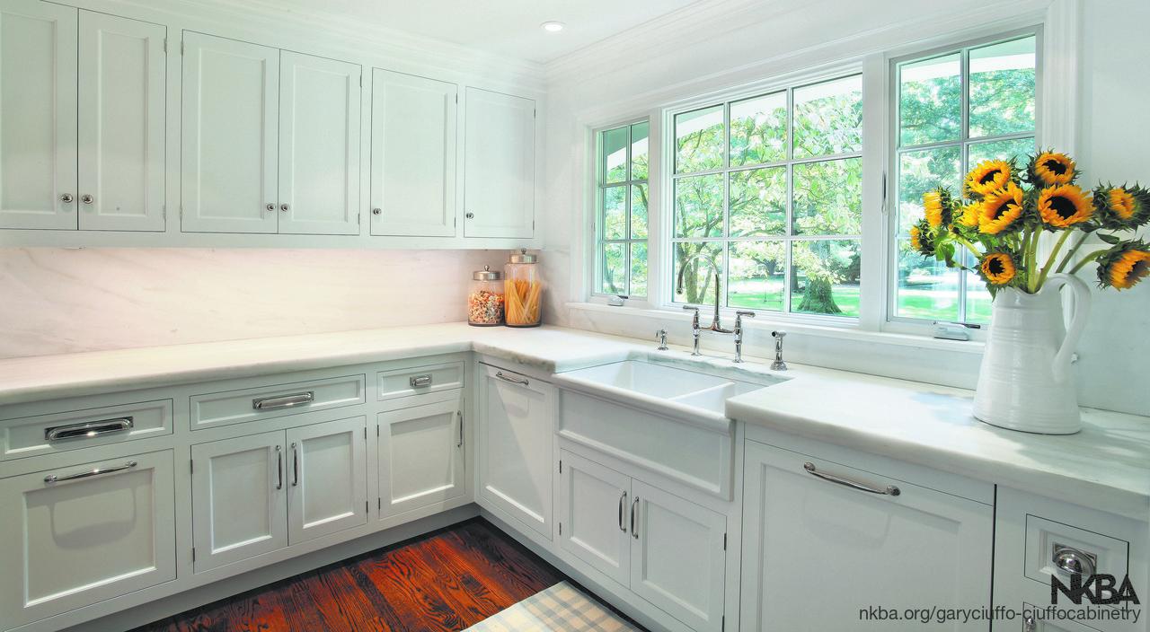 Classic Traditional White Kitchen Nkba