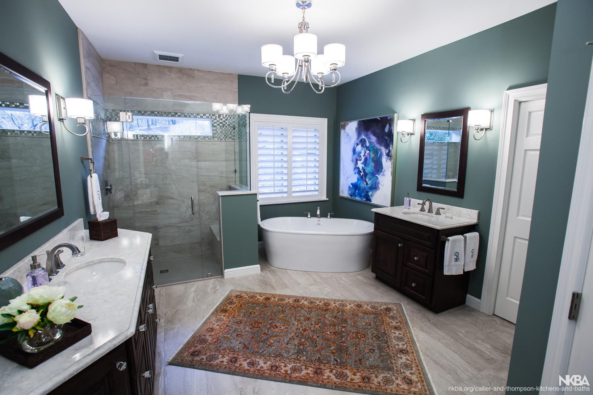 Superbe Wildwood Master Bath Remodel   NKBA