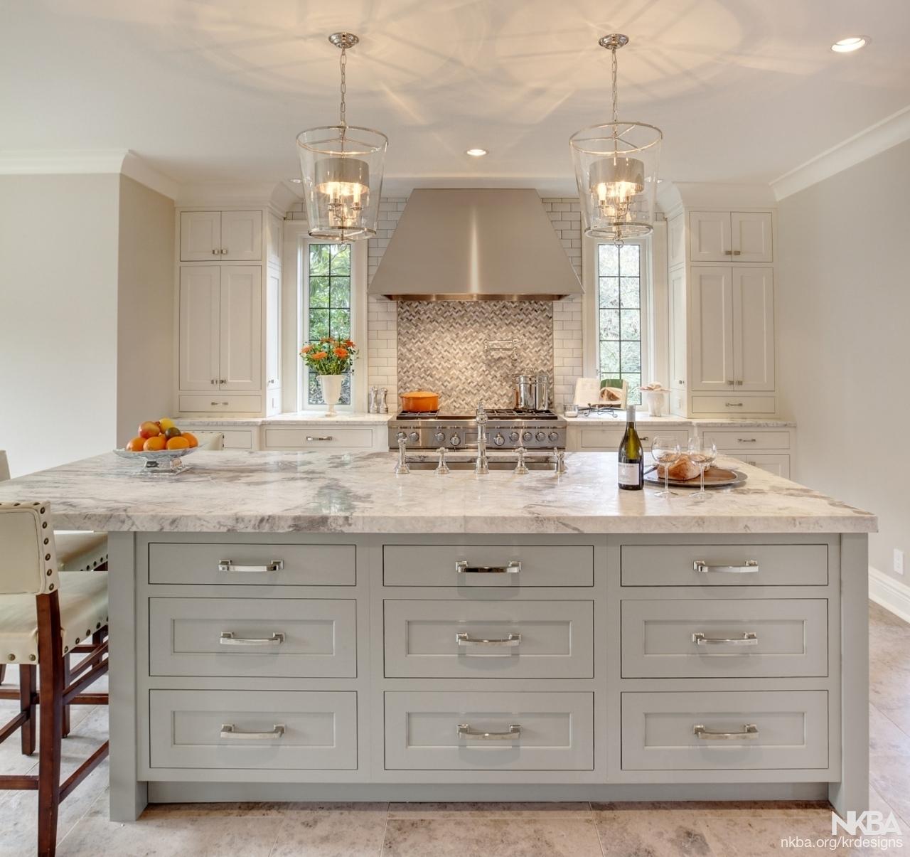 Kitchen Island - the new kitchen jewel by Karin Ross Designs - NKBA