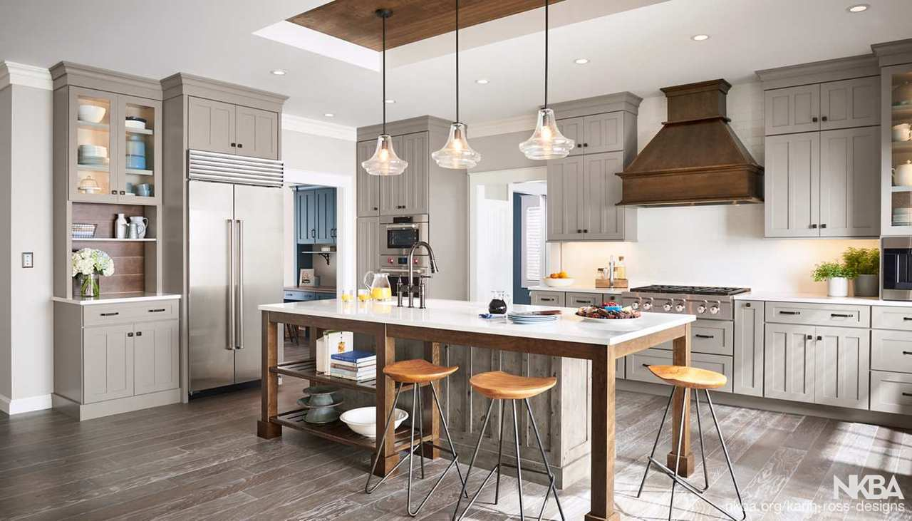 Karin Ross Designs Offers New Kitchen Island Designs Nkba