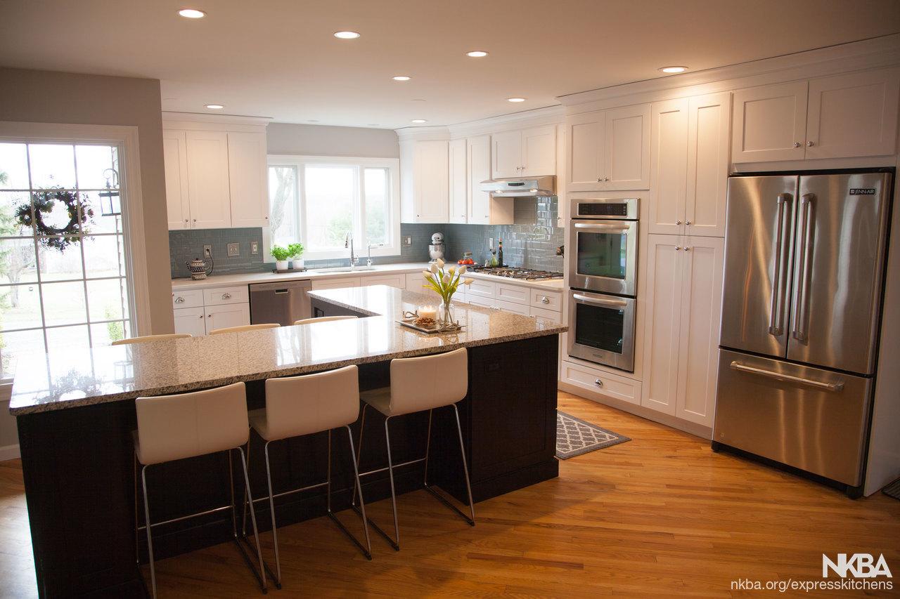 Two Tone Shaker Kitchen   Transitional   Kitchen
