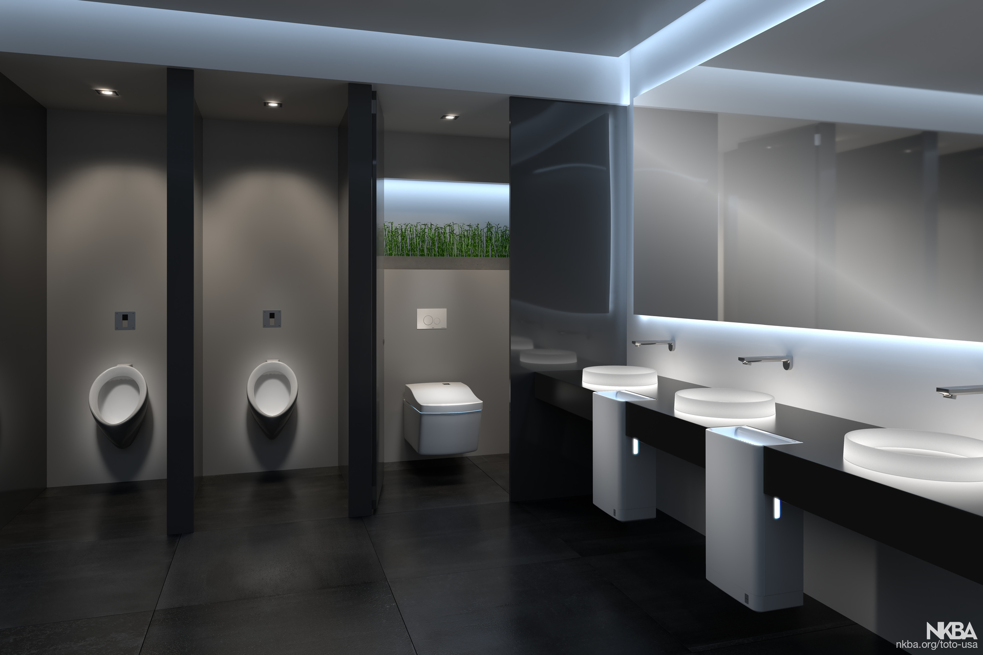 Commercial Bathroom - NKBA