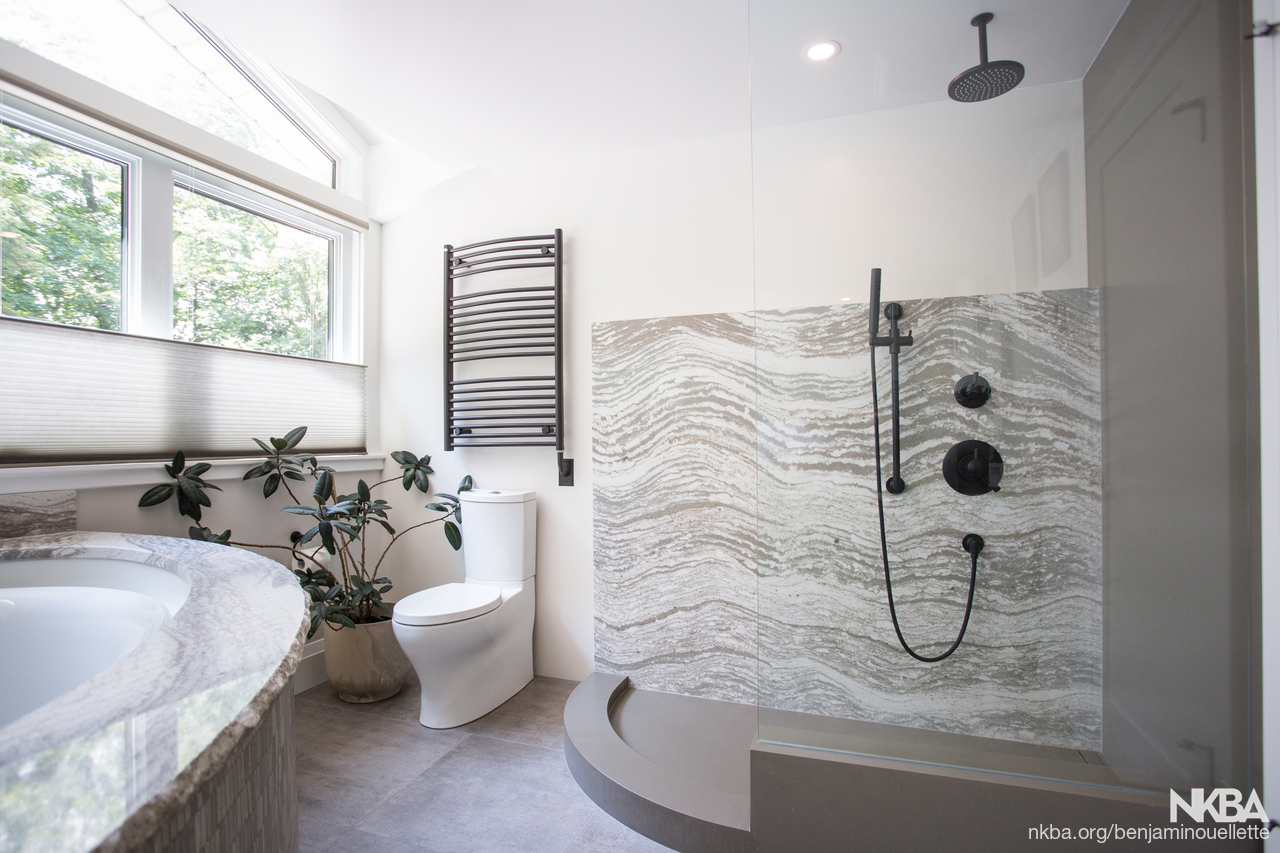 Zen Oasis Bathroom - NKBA