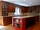 Colorful Red Kitchen - Transitional - Kitchen