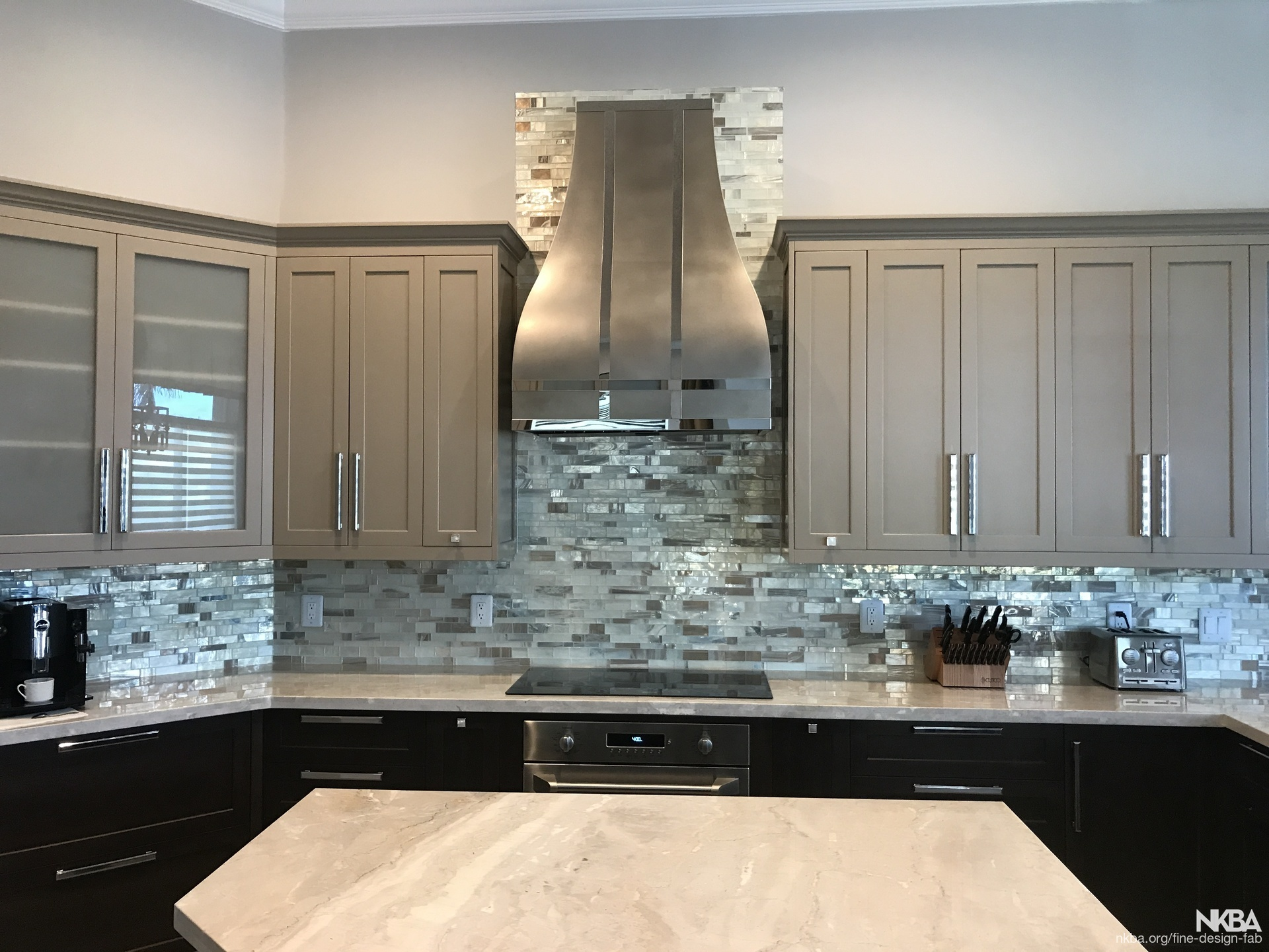 Custom Stainless Steel Range Hood Nkba