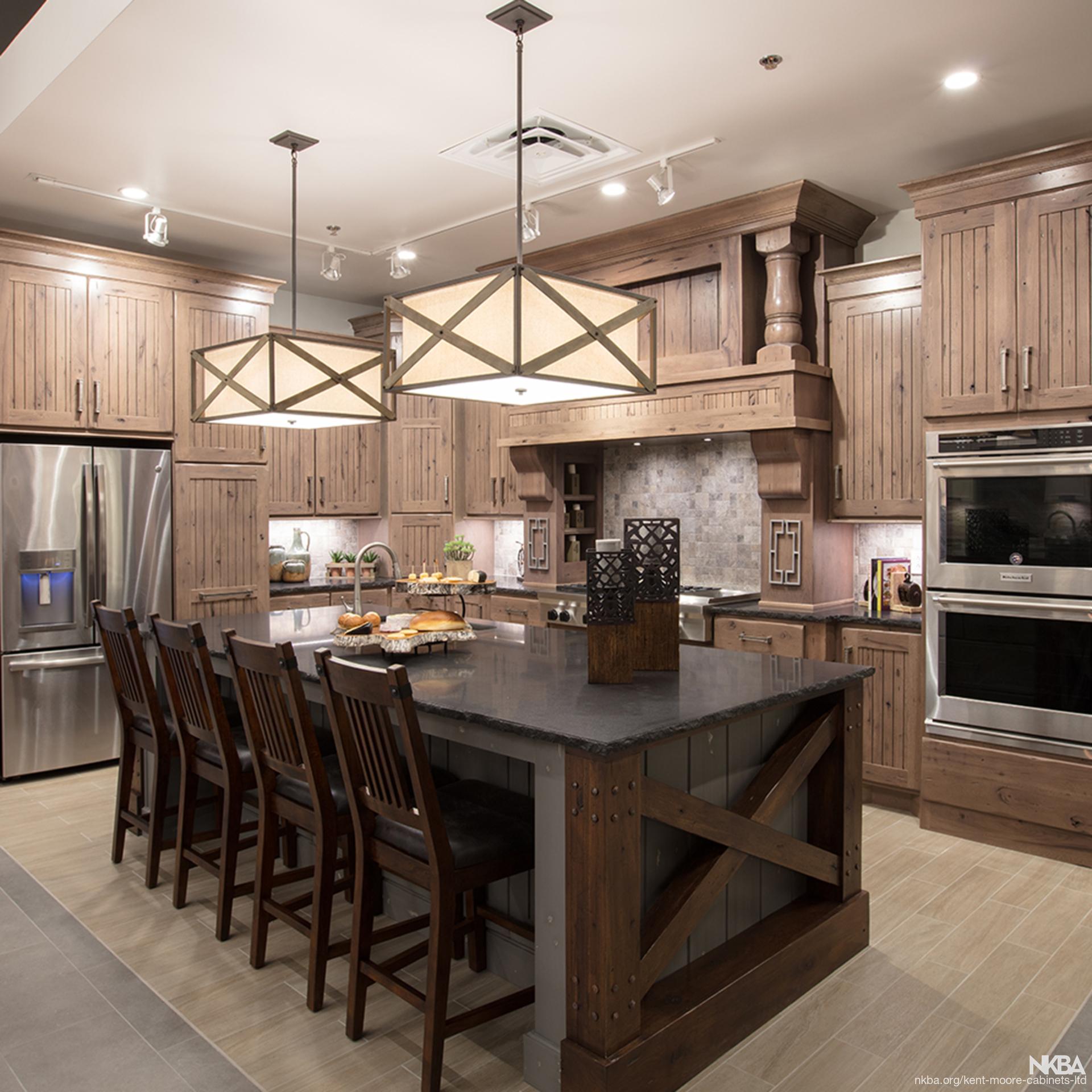 Kitchen Design Kent: Rustic Renaissance Kitchen