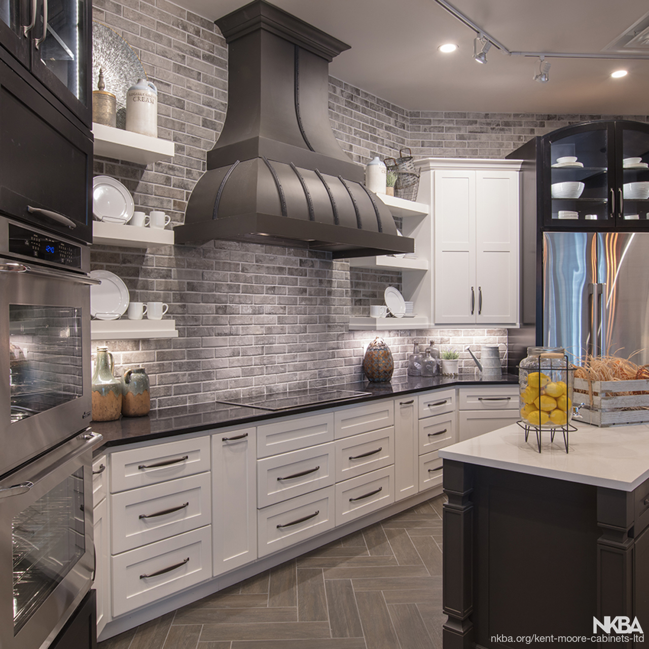 Full Overlay Modern Traditional Kitchen Nkba