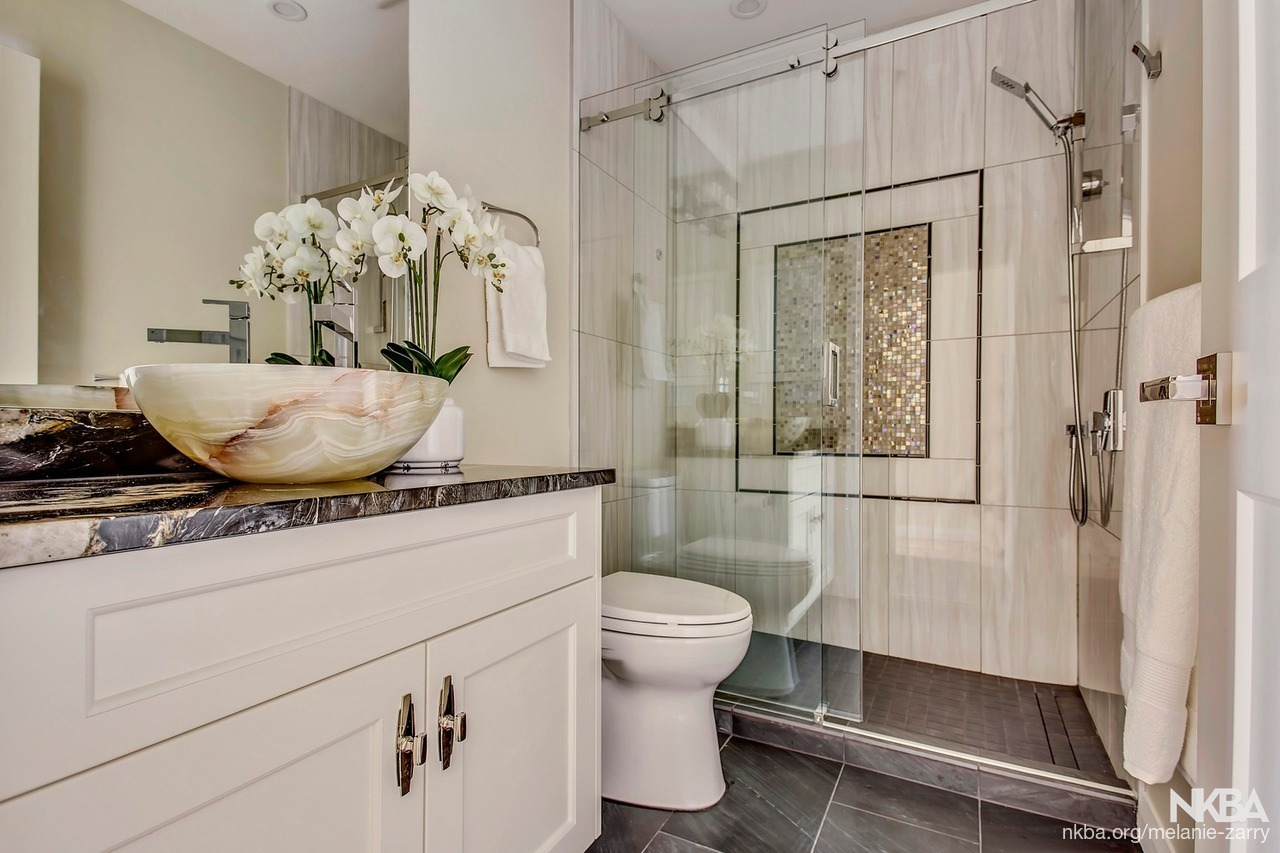 Lake Erie Guest Bathroom - NKBA