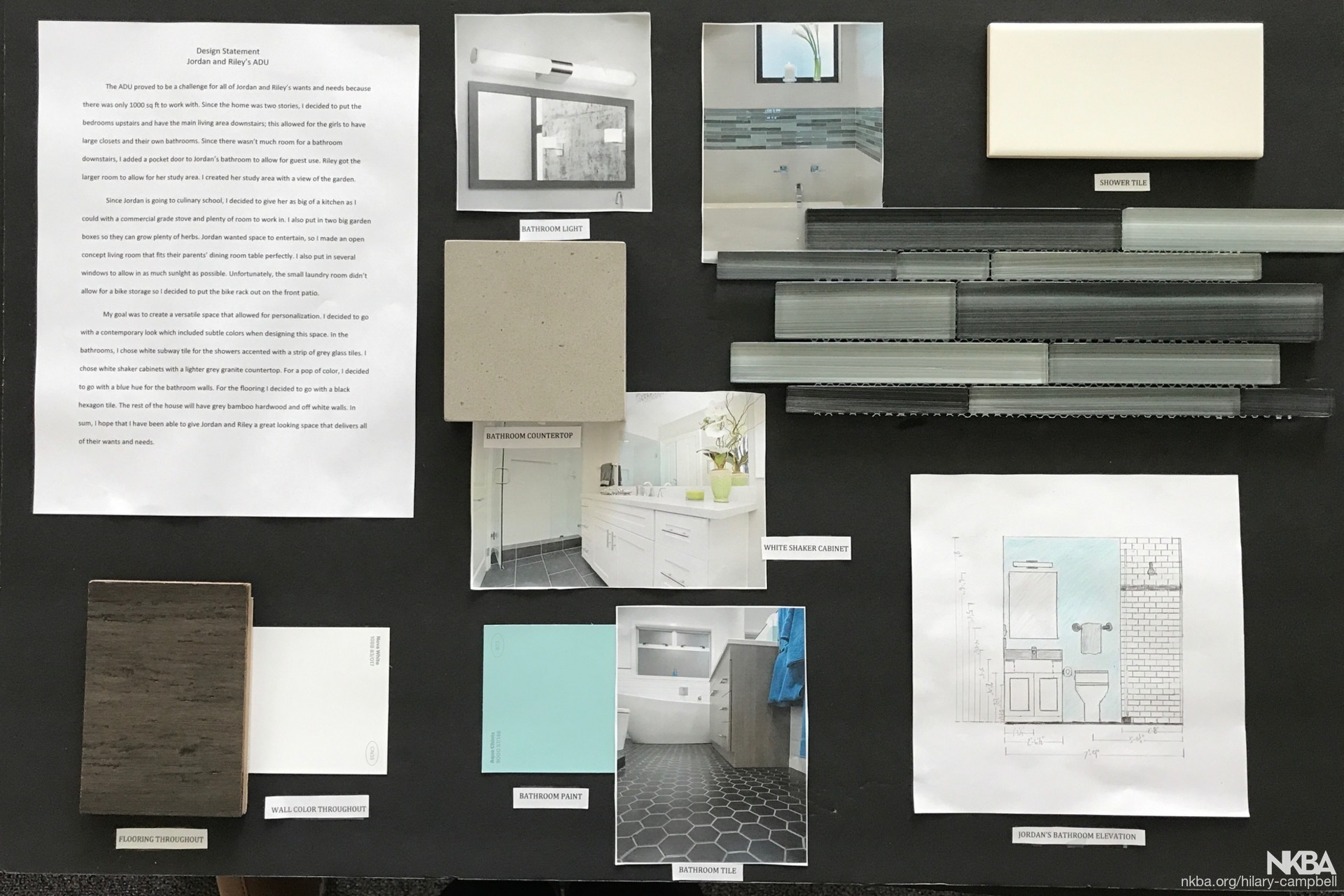 BCT-PCC Design/Build Remodel Concept Board - NKBA