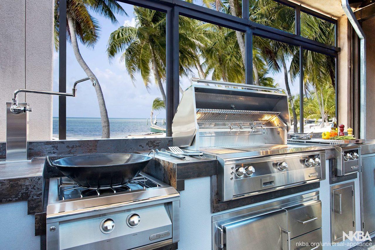 Alfresco Outdoor Kitchen - NKBA