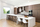 Galley Kitchen with Stepped Island - Contemporary - Kitchen