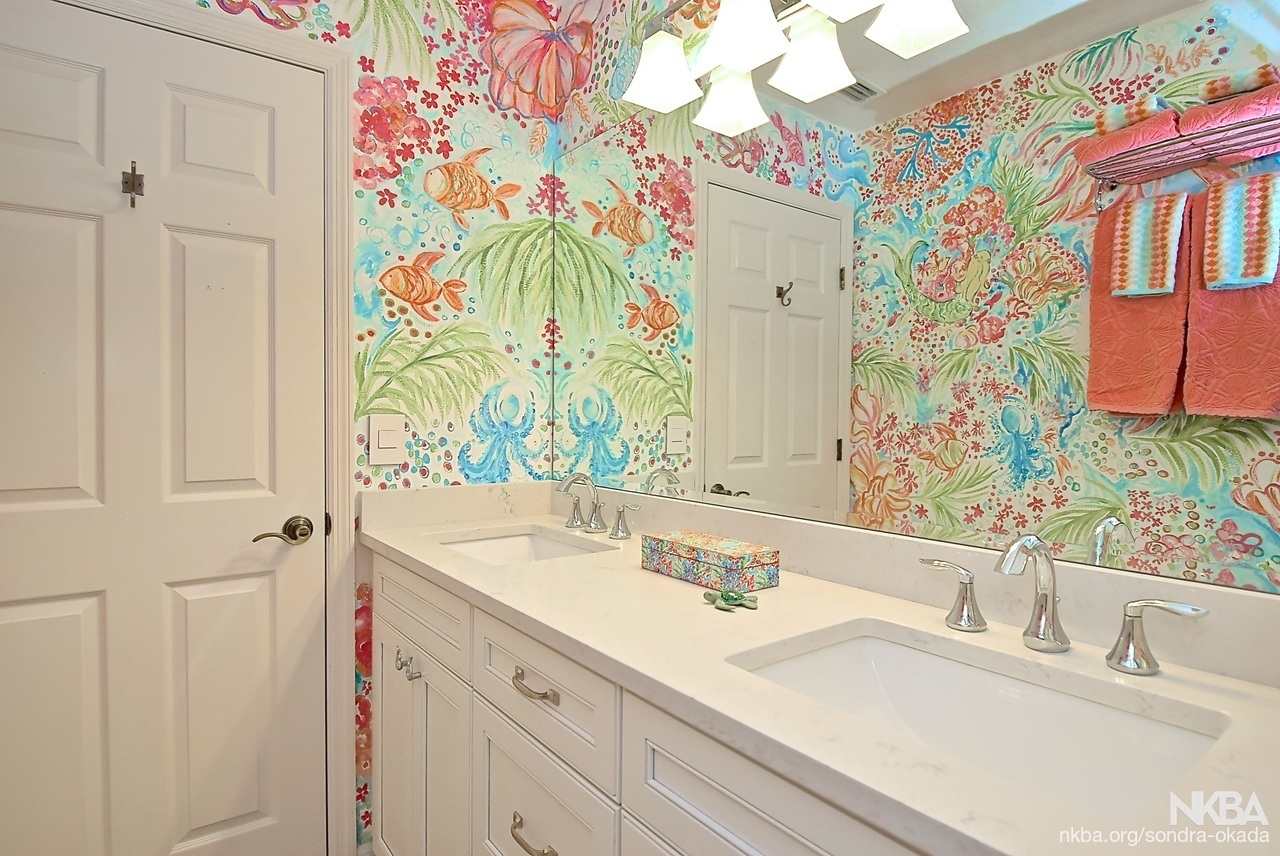 Lilly Pulitzer Inspired Gba Transitional Bath