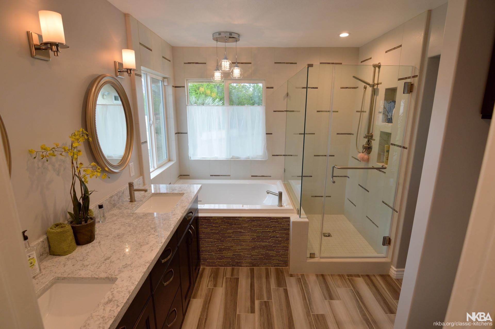 yucaipa  ca contemporary master bathroom remodel
