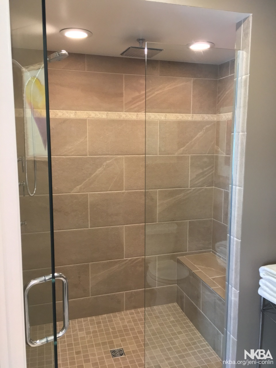 Shower Redo Transitional Bath