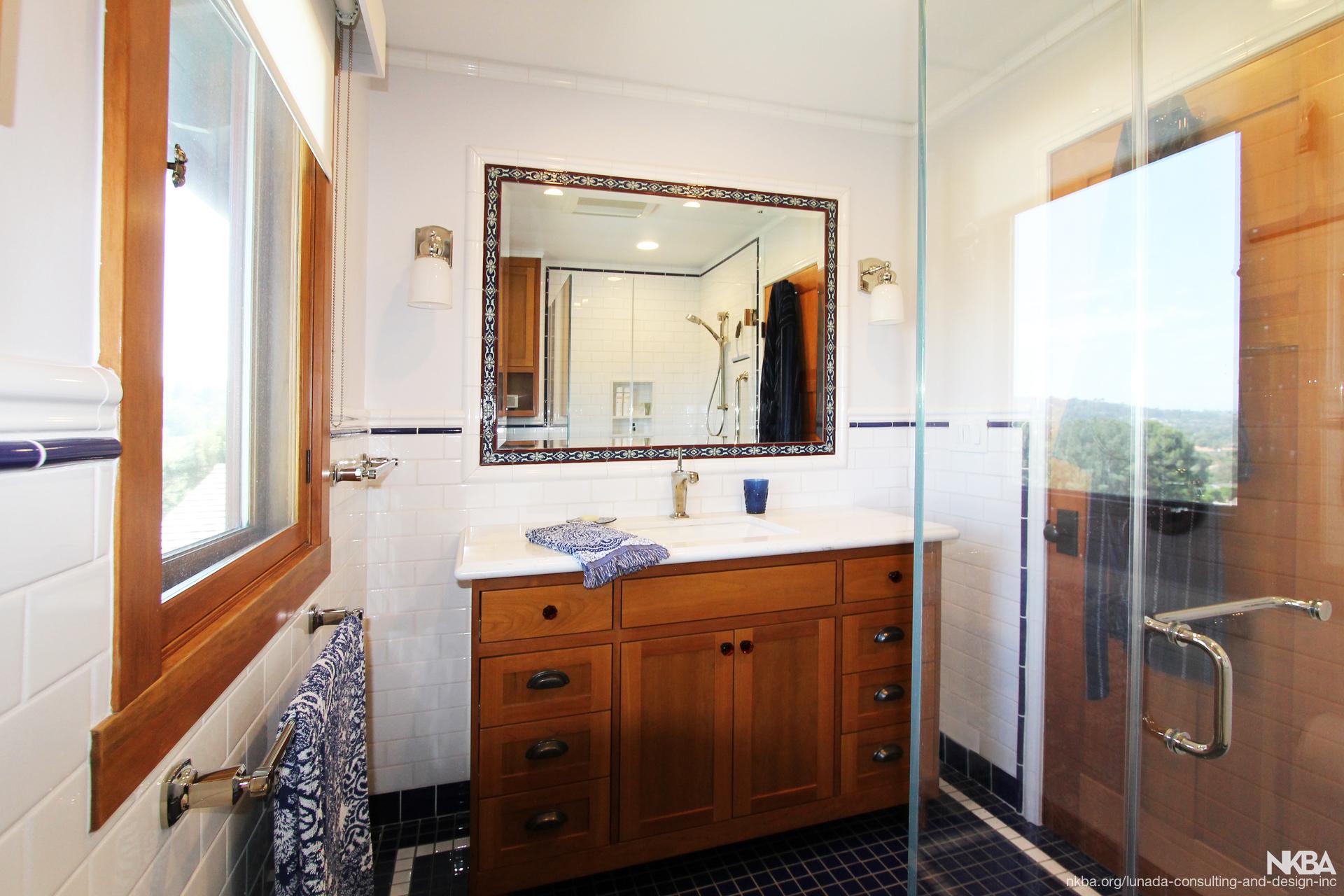 The Neo Craftsman Style Home Bath NKBA