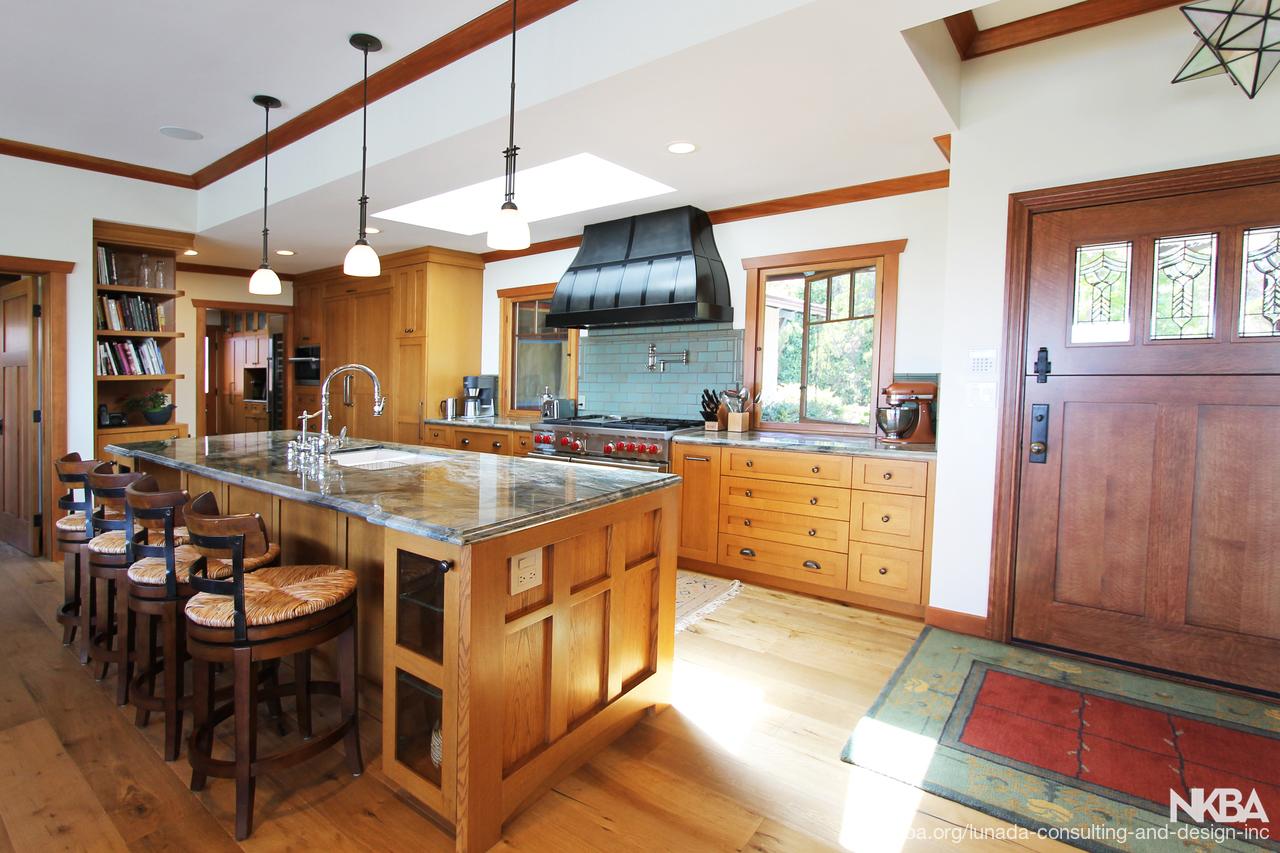 The Neo Craftsman Style Home Kitchen Nkba