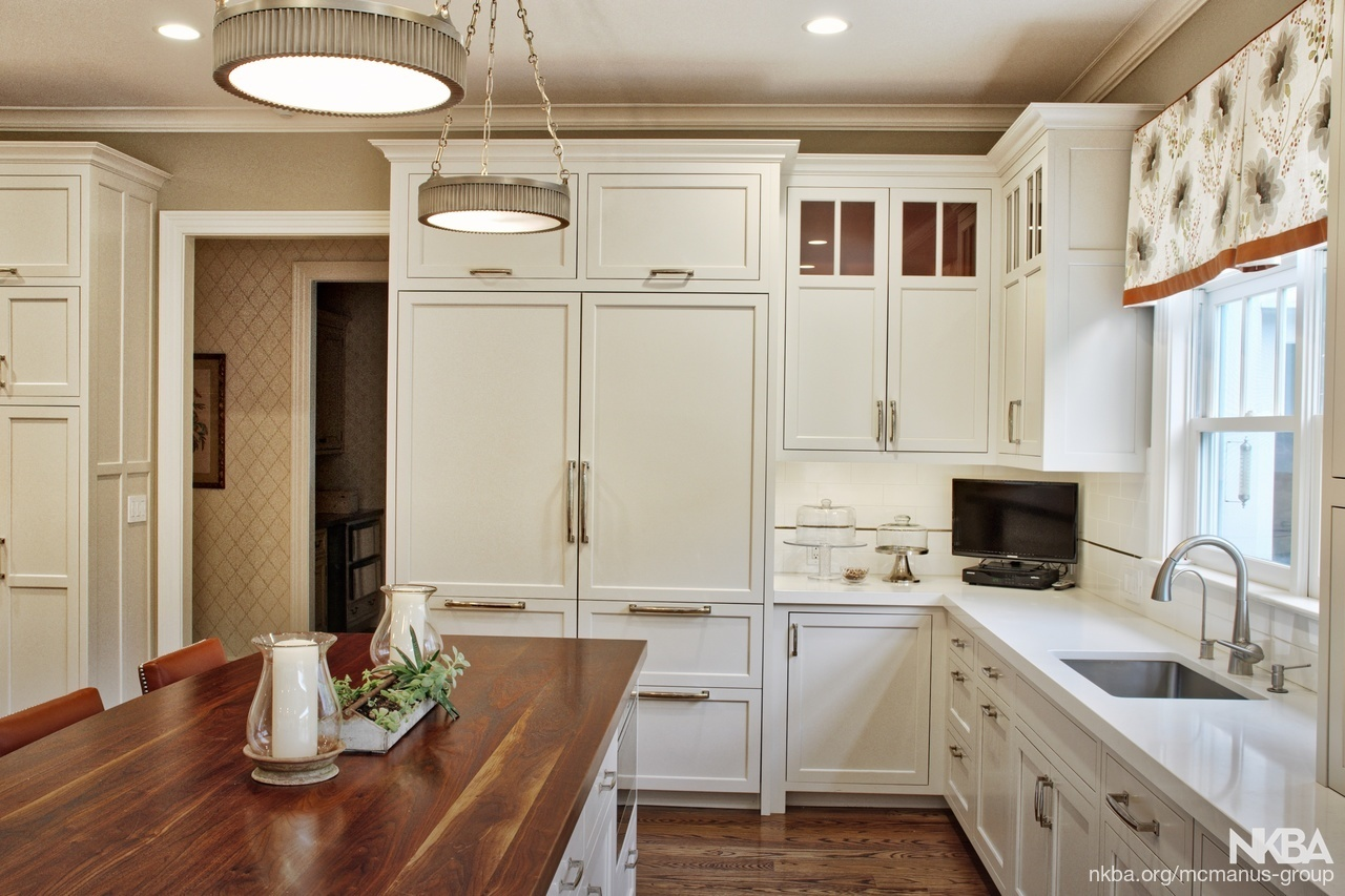 Wooded Country House Kitchen Remodel Nkba