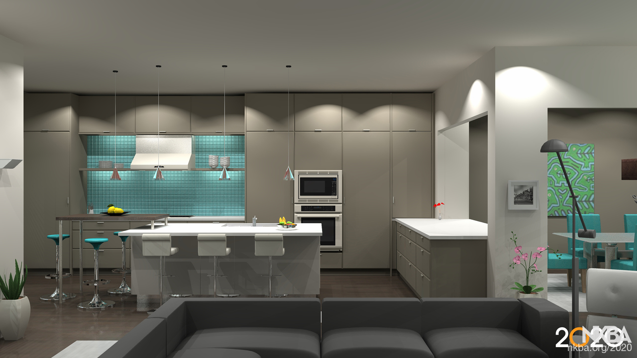 Modern Kitchen Designed With 2020 Design Software Nkba