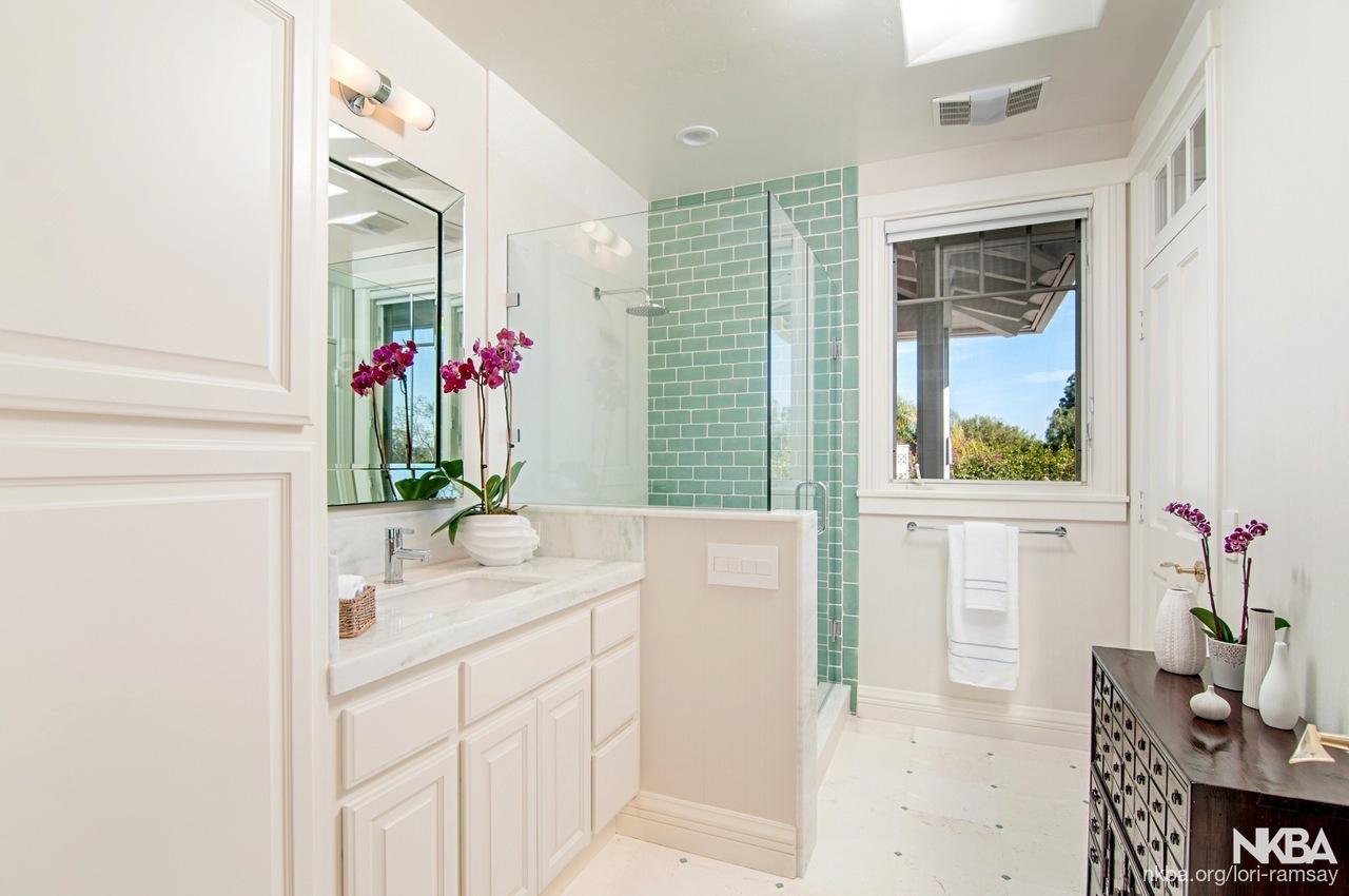 Luxury Guest Bath - NKBA