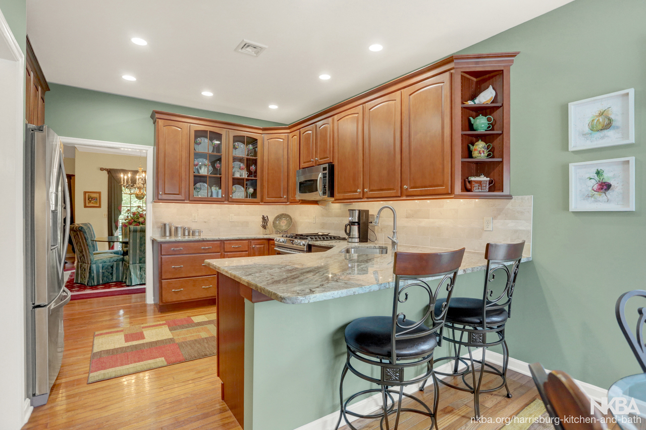 Townhouse Kitchen Remodel with Style (K-95) - NKBA