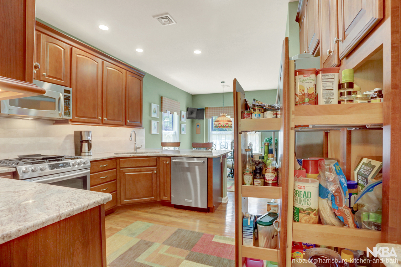 Townhouse Kitchen Remodel With Style (K 95)   NKBA