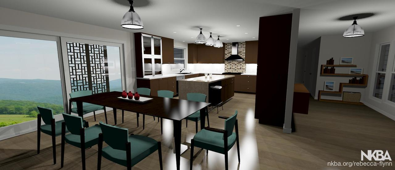 Chief Architect Kitchen Rendering   Transitional   Kitchen