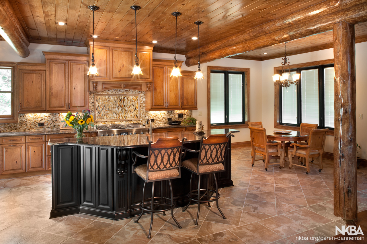 Log Cabin Kitchen - NKBA