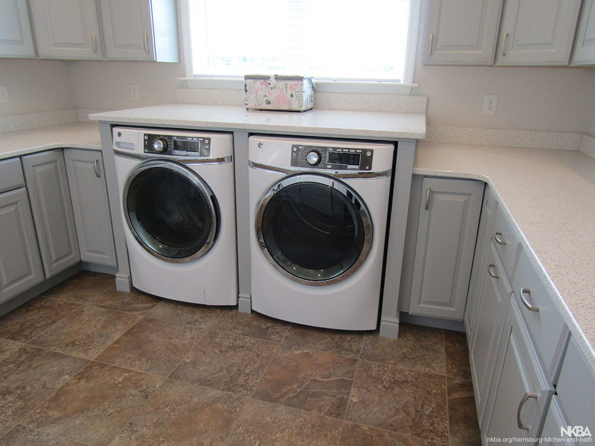 Stylish efficient laundry room l 4 nkba