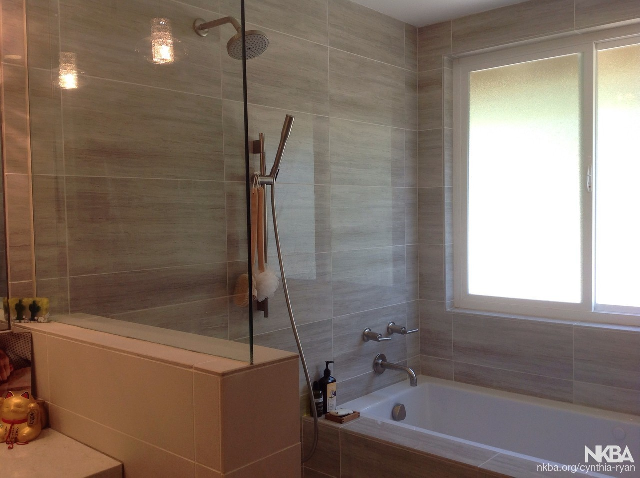 . Zen Modern Shower and Bath   NKBA