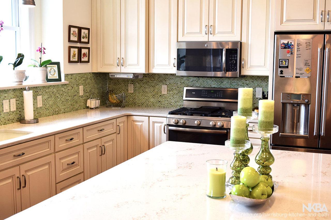 Green Kitchen/Dining Room   NKBA