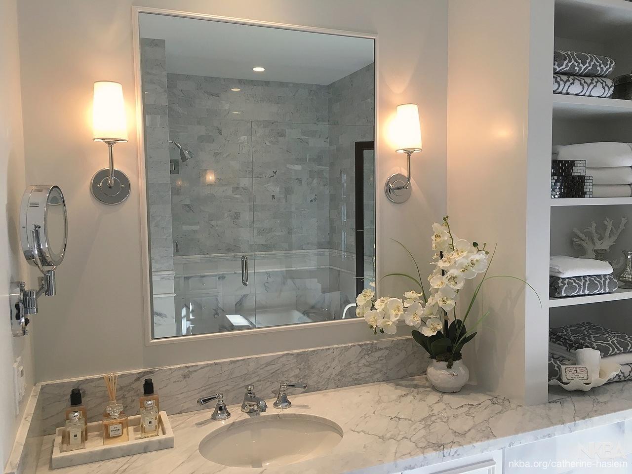 marble master bathroom nkba