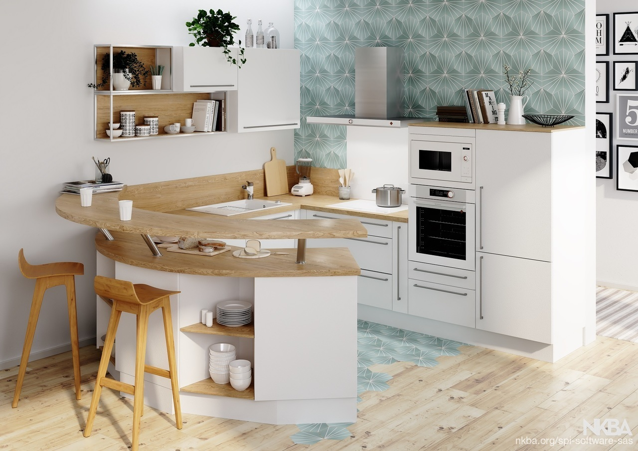 Scandinavian Kitchen - NKBA