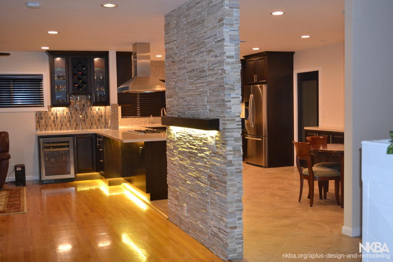 . Kitchen living room remodel in Los Angeles   NKBA