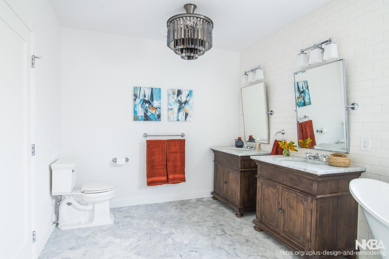 Bathroom remodel in los angeles traditional bath