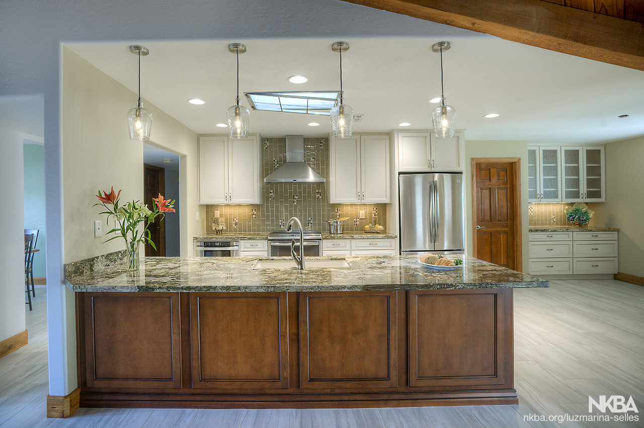 Transitional Kitchen Design - NKBA