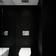 Brickell Condo Powder Room - Glam - Bath